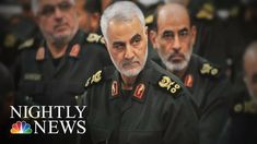 On Thursday, the Pentagon confirmed that US forces killed Iranian Maj. Qassem Soleimani in an airstrike near Baghdad's airport at the direction of President Donald Trump. Nightly News, Baghdad, Nbc News, Pentagon, Iranian, Donald Trump, Thursday, Presidents, American