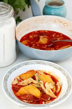 galuste1 Romanian Food, My Recipes, Thai Red Curry, Food To Make, Sandwiches, Meals, Cooking, Ethnic Recipes, Soups