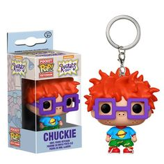 Rugrats Chuckie Finster Pocket Pop! Key Chain - Funko - Rugrats - Key Chains at Entertainment Earth