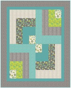 Modern Baby Quilt Patterns Free : Simple