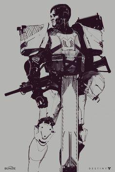 Destiny 2 Concept Art by Ryan DeMita | Concept Art World