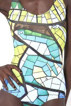 Glass Lorikeet Swimsuit  Like it!  BlackMilk clothing