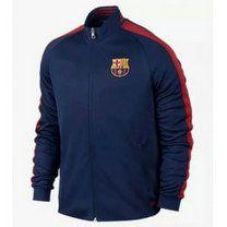 15-16 Football Shirt Barcelona Cheap Navy N98 Track Jacket [B193]