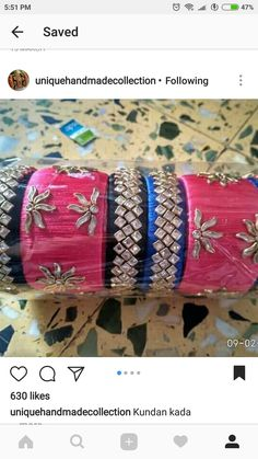 Silk Thread Bangles, Thread Jewellery, Nautical Necklace, Designer Bangles, Projects To Try, Handmade Jewelry, Jewels, Gemstones, Crystals