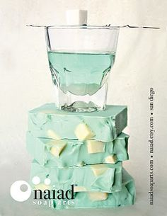 Tiffany colored and delicious looking