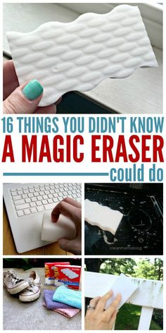 The magic eraser was named appropriately. There are hundreds of things you can do with the. Here are just a few tips and tricks that could save you time and money in the future! und tricks putzen 16 Things You Didn't Know a Magic Eraser Could Do