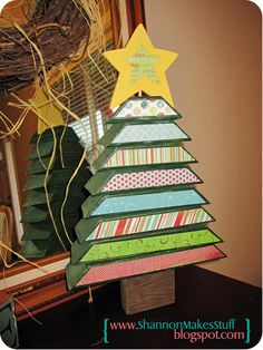 A 2X4 Christmas Tree