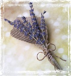 Lavender And Burlap Boutonniere  Herb Weddings  by sparkleandposy, $12.00