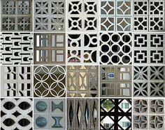 Concrete screens
