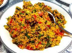 Kisir recipe - Samantha Home Appetizer Salads, Appetizer Recipes, Salad Recipes, Snack Recipes, Cooking Recipes, Turkish Recipes, Ethnic Recipes, Eastern Cuisine, Herbs
