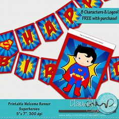 Hey, I found this really awesome Etsy listing at https://www.etsy.com/listing/219064765/superheroes-inspired-birthday-party