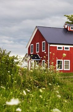 I have held on to this idea (turning a barn into a home or making the home look like and old barn) since I was 11 years old when my mom, grandma and I visited an antique store that was a refurbished barn. I still love this idea!