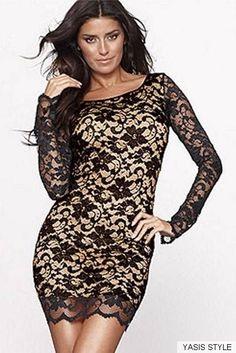 VESTIDO ENCAJE Color: Negro Talla: 36-S, 38-M, 40-L, 42-XL  Precio: 26.99€  www.cocoylola.es #cocoylola #moda #vestidos #tiendaonline #shop #españa