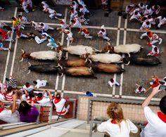 Las Fiestas de San Fermín: Festa dygnet runt, mest… Fiestas, Nature
