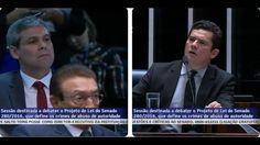 O dia em que Sergio Moro desmascarou Lindbergh Farias