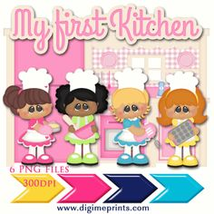 My First Kitchen Clip Art