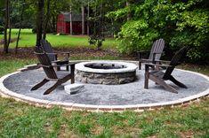 Nice Idea for backyard fire pit