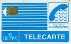 La carte de téléphone