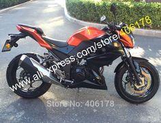 (407.55$) Watch here - Hot Sales,For Kawasaki Z250 15-16 Z 250 Z300 2015-2016 Z 300 Orange Black Bodyworks Motorbike Moto Fairing (Injection molding)