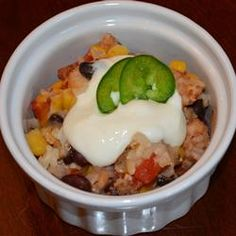 DASH Diet Mexican Bake Recipe