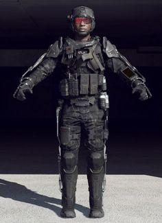 Advanced Warfare: ATLAS Exoskeleton – Character Models