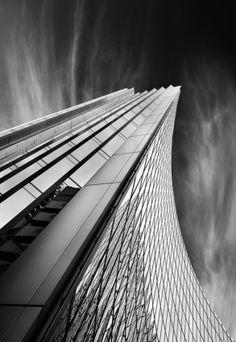 "/ Photo ""/("" by Marzena Wieczorek Space Architecture, Contemporary Architecture, Architecture Details, Different Architectural Styles, Architectural Elements, Space Photography, Amazing Photography, Dark City, Foto Art"