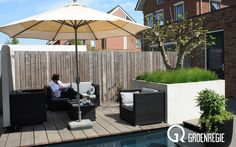 strakke tuinen foto's | Groenregie - Moderne tuinen
