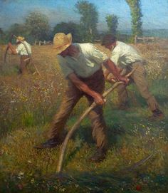 The Mowers ~ George Clausen