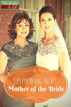 If you want to be the best mother of the bride possible, follow these top tips.