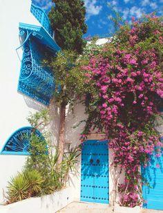 Sidi Bou Saaed, Tunisia