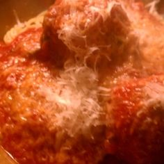 Meatballs Marinara - Traditional Italian Meatballs, slow simmered in a sauce beyond compare