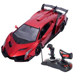 1/14 Lamborghini Veneno Electric Sport Radio Remote Control RC Car  Kids Toy