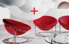 Luigi Colani Lounge Chairs