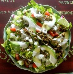 Raw Vegan Taco Salad
