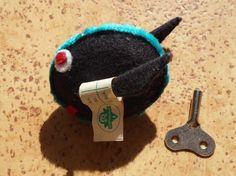 Flottchen der Ausreiser, mechanischer Floh, Spielzeug DDR