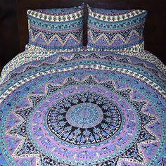 Purple Rhapsody Tapestry Bedding