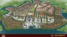 Phối cảnh dự án khu đô thị long hưng