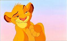 """""""Eu rio na cara do perigo! HA HA HA HA!"""" (O Rei Leão)"""