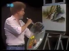 Bob Ross Surprising Falls - The Joy of Painting (Season 14 Episode ★… Acrylic Painting Lessons, Painting Videos, Painting & Drawing, Bob Ross Art, Bob Ross Paintings, The Joy Of Painting, Learn To Paint, Art Techniques, Art Oil