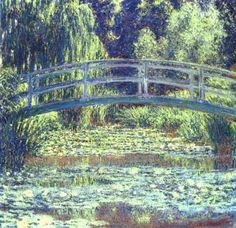 Monet, The Japanese Bridge.