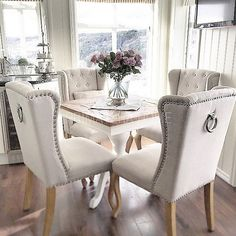 Krzesło ludwik uszak tapicerowane pikowane z kołatką styl francuski prowansalski shabby chic KRZESŁO KEITH