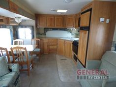 Space And Storage Is Not An Issue With The Front Kitchen Layout Offered In The Used 2005 Jayco Eagle 322 FKS Travel Trailer at General RV | Brownstown, MI | #141950