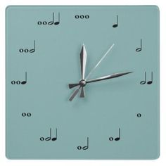 A wall clock for the music lover in your life
