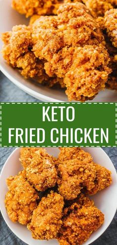 These are the best keto fried chicken thighs! Super crispy and crunchy, just like the real deal. Easy to make and breaded using almond flour and parmesan cheese, these low carb and gluten free chicken bites are fried (not oven baked) in vegetable oil. Ketogenic Recipes, Low Carb Recipes, Diet Recipes, Healthy Recipes, Zoodle Recipes, Cooking Recipes, Pescatarian Recipes, Cheese Recipes, Recipes Dinner