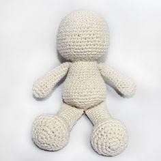 Como fazer Bonecos de Amigurumi em Crochê - Passo a Passo ~ Armarinho São José