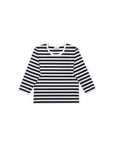 Lasten Pitkähiha 2 -paita (valkoinen, musta)  Vaatteet, Lapset, Leikki-ikäiset   Marimekko