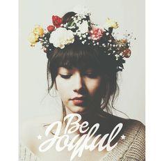 'Be joyful' design available in the Photofy app! #fanart #photofy #photofyapp