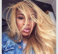 golden blonde hair, black women, black girls inspiration, straight hair brown and black people girl in blonde hair up Blonde Hair Black Girls, Golden Blonde Hair, Honey Blonde Hair, Weave Hairstyles, Straight Hairstyles, Blonde Hairstyles, Blonde Color, Hair Color, Balayage Blond