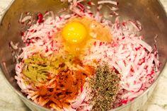 Radish Hashbrown Ingredients