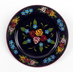 Narrowboat Daisy Chain Plate